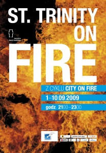 plakat city on fire2